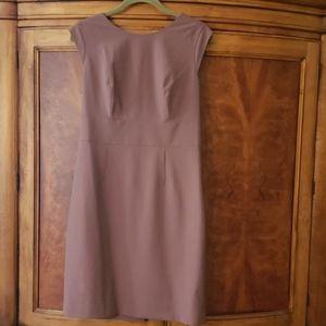 The Limited mauve pencil dress.